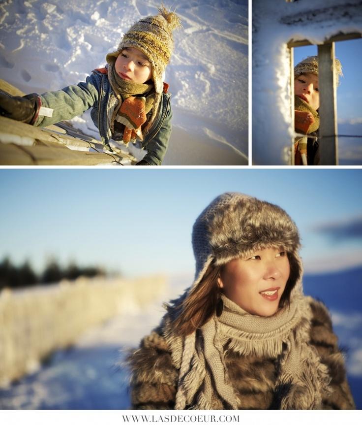 Portrait d'enfant dans la neige | Wedding & Portrait Photographer Lyon France | Burgundy, Morocco, Noumea | Tel: +33 (0)9 51 82 92 05