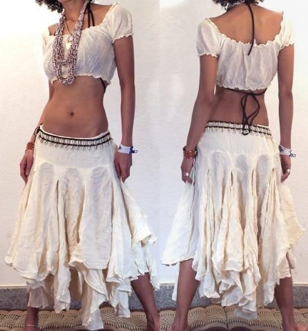 "GYPSY HIPPY BOHO PIXIES 500"" FULL HIPPIE SKIRT F17 Image. - l love the skirt, just need a bit more modesty with top"