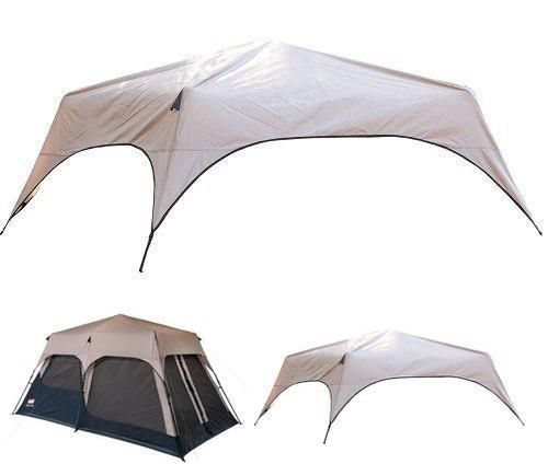 Portable 8 Person Camping Travel Instant Cabin Tent Rain Fly Accessory Outdoor #Coleman