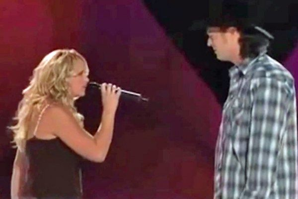Blake Shelton and Miranda Lambert's anniversary is May 14, but knowing what we know now, another date is just as important. In 2005 fans saw a dopey grin on Shelton's face that was much more than one singer admiring another in song. As Lambert sang her portion of 'You're the Reason God Made Oklahoma' during the CMT '100 Greatest Duets' concert, the 'Honey Bee' star fell hard.