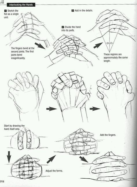 Drawing Sketches Hands Illustrations 57+ Ideas