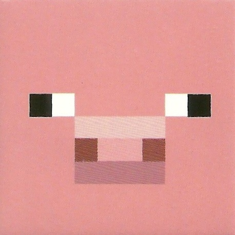 Minecraft Pig Face pig face for cupcake f...