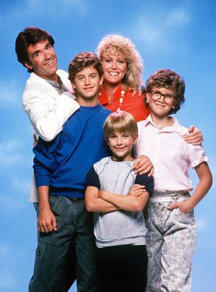 "Growing Pains! Back in the day Kirk Cameron actually said ""Boner"" no pun intended that was his BFF on the show!"