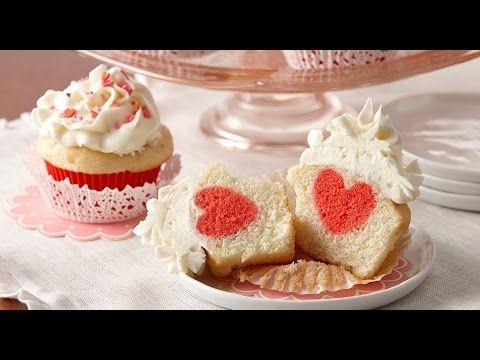 San Valentino Cupcake con cuore