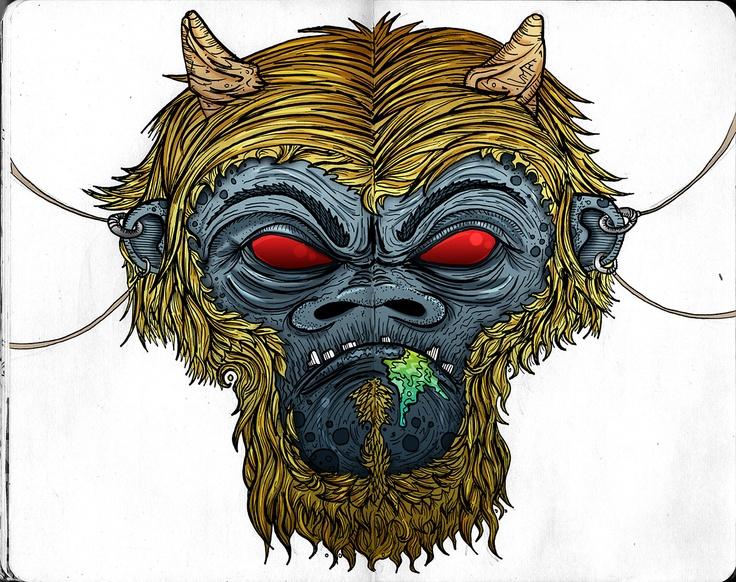 Gorilla demon