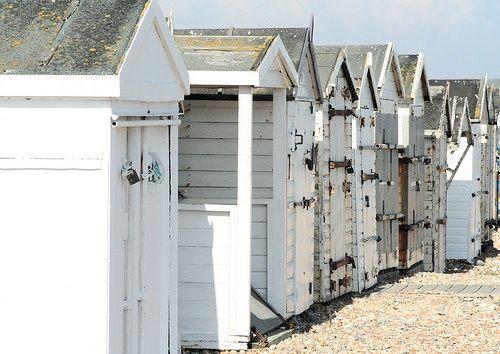 Beach Huts, ♥♥♥ re pinned by www.huttonandhutton.co.uk @HuttonandHutton #HuttonandHutton
