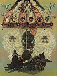 Mistura entre ficção científica, cultura africana, folclore afro-caribenho e do oeste da Índia, o trabalho do artista jamaicano Paul Lewin vem chamando a atenção pela convergência de culturas. Natural