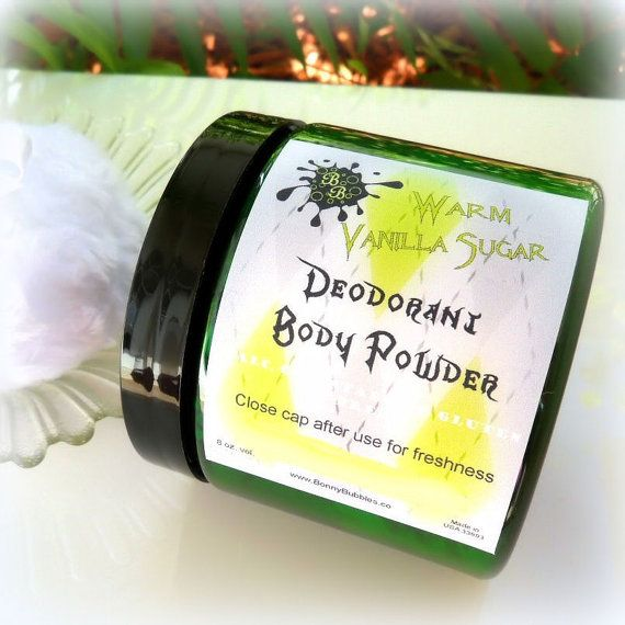Coconut Creme Brulee BODY POWDER silky deodorant refill 8 oz - CLEARANCE - dusting poudre - loose talcum powder on Etsy, $4.51 CAD