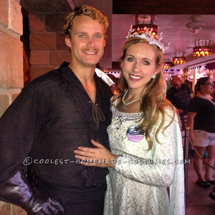 Cool Couple Costume Idea from The Princess Bride: Westley and Buttercup... This website is the Pinterest of costumes