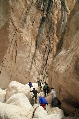 #SARDEGNA,#OGLIASTRA - Trekking nella Gola Su Gorroppu in Ogliastra (foto Andy Christiani / Alamy/Milestone Media)