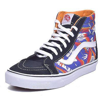 Vans Sk8 Hi Reissue Men's Van Doren Black/Tropic Rays Hi Top Shoes