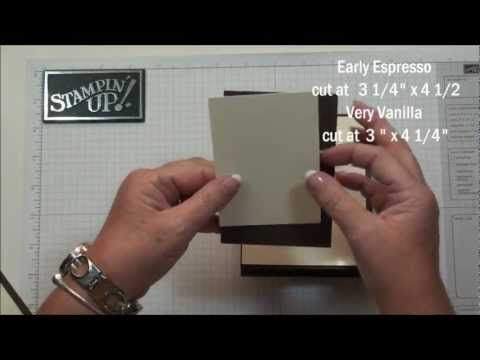 cheap hippie clothes Good videos using Stampin Up products  Triple Layer Stamping with Dawn