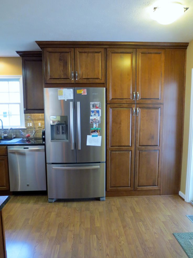 Pantry Cabinets Around Your Refrigerator Is One Way To