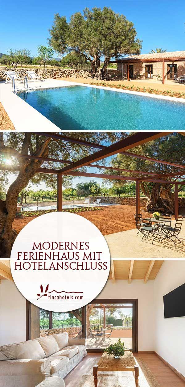 Im Herzen von Mallorca hat das gemütliche Fincahotel Agroturismo Sarbosar sein Zuhause. Auf dem weitläufigen Fincagrundstück beherbergt das kleine Hotel auch ein separates Ferienhaus mit eigenem Pool, 3 modern eingerichteten Schlafzimmern sowie Küche und Wohnzimmer.