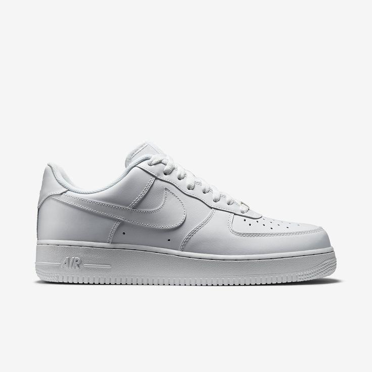 Pour acheter votre Nike - Chaussures Air Force 1 Low White Blanc pas cher  et au meilleur prix : Rueducommerce, c'est le spécialiste du Nike -  Chaussures Air ...