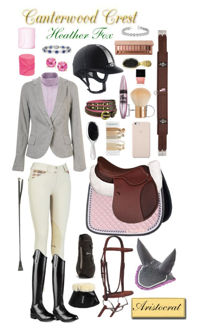 """""""Canterwood Crest: Heather Fox"""" by equine-couture ❤ liked on Polyvore Liking the cardigan."""