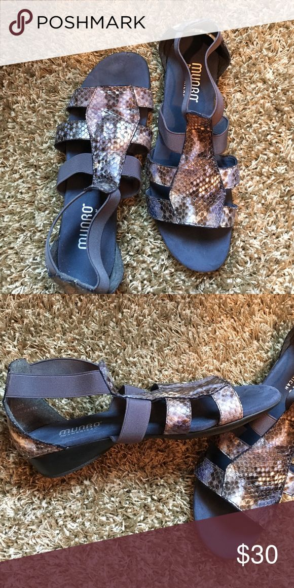 Sandals These are from Munro shoe company. Retail on these is $182.00 . Very comfy shoes Munro Shoes Sandals