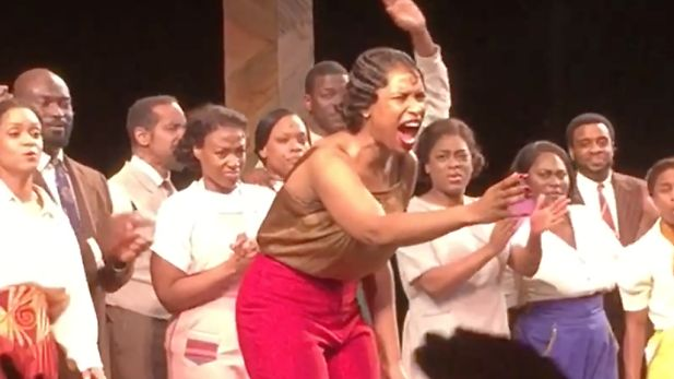 AFRICAN AMERICAN REPORTS: Cast of The Color Purple perform Purple Rain