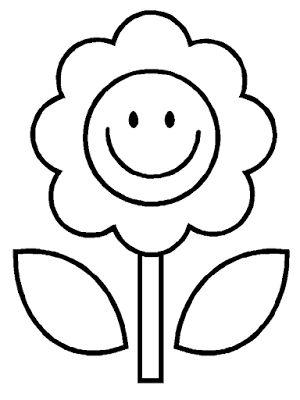 Aneka Gambar Mewarnai - 20 Gambar Mewarnai Bunga Untuk Anak PAUD dan TK.