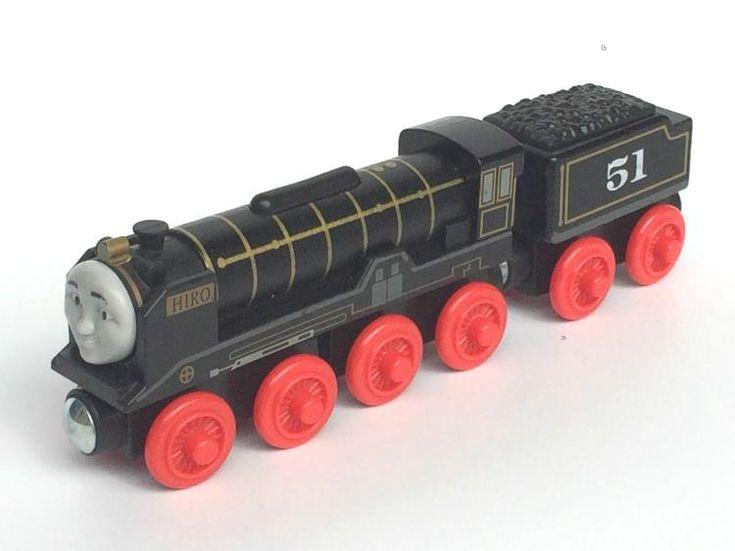 RARE NUEVA HIRO & TRUCK Original Motor de Tren Modelo de Tren Thomas Y Amigos De Madera Magnética Niño/Niños de Juguete de Navidad regalo