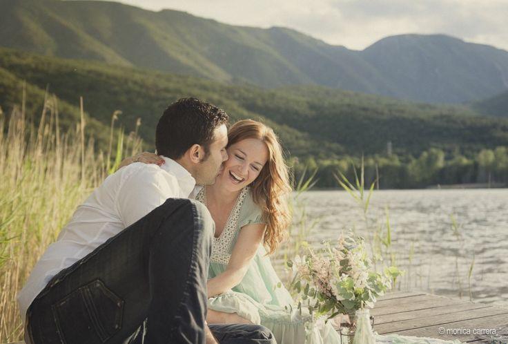 Mònica Carrera - Fotografía de boda , preboda en el lago