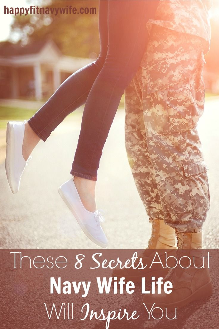 """These 8 Secrets About Navy Wife Life Will Inspire You"" by Heather of Happyfitnavywife"