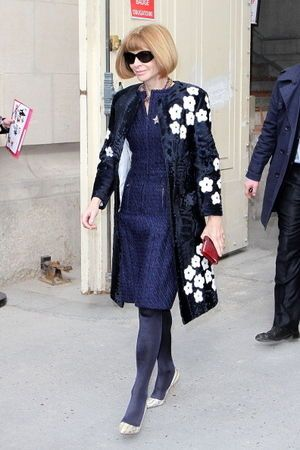 Anna Wintour = Would be ideal, flattering style for advanced among us!