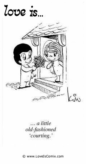 Image result for Old fashioned love cartoon