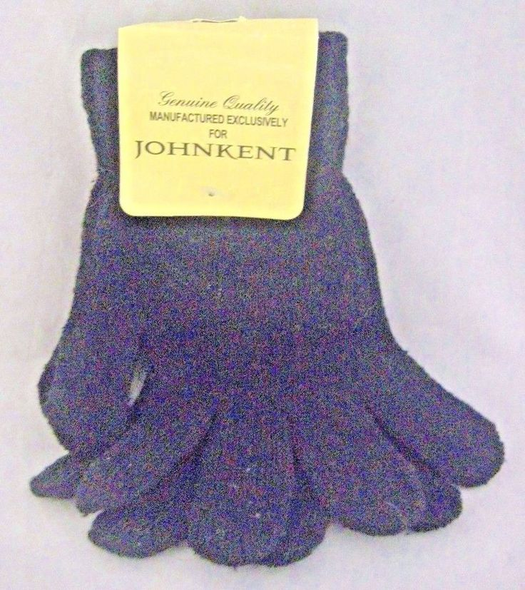 New John Kent Women's Knit Gloves Black #JohnKent #EverydayGloves #Everyday