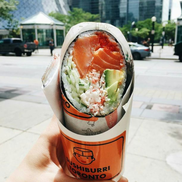 Sushiburri Toronto is a Toronto based food truck specializing in sushi burritos.