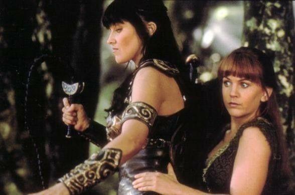 Warrior lesbians