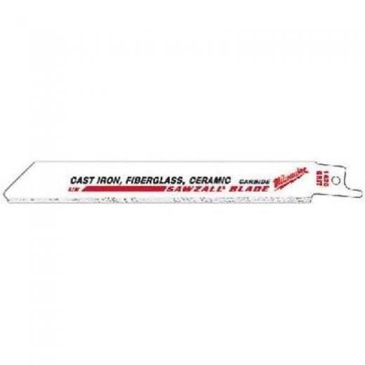 Milwaukee 48-00-1430 9-inch Tungsten Carbide Sawzall Blades 3-pack