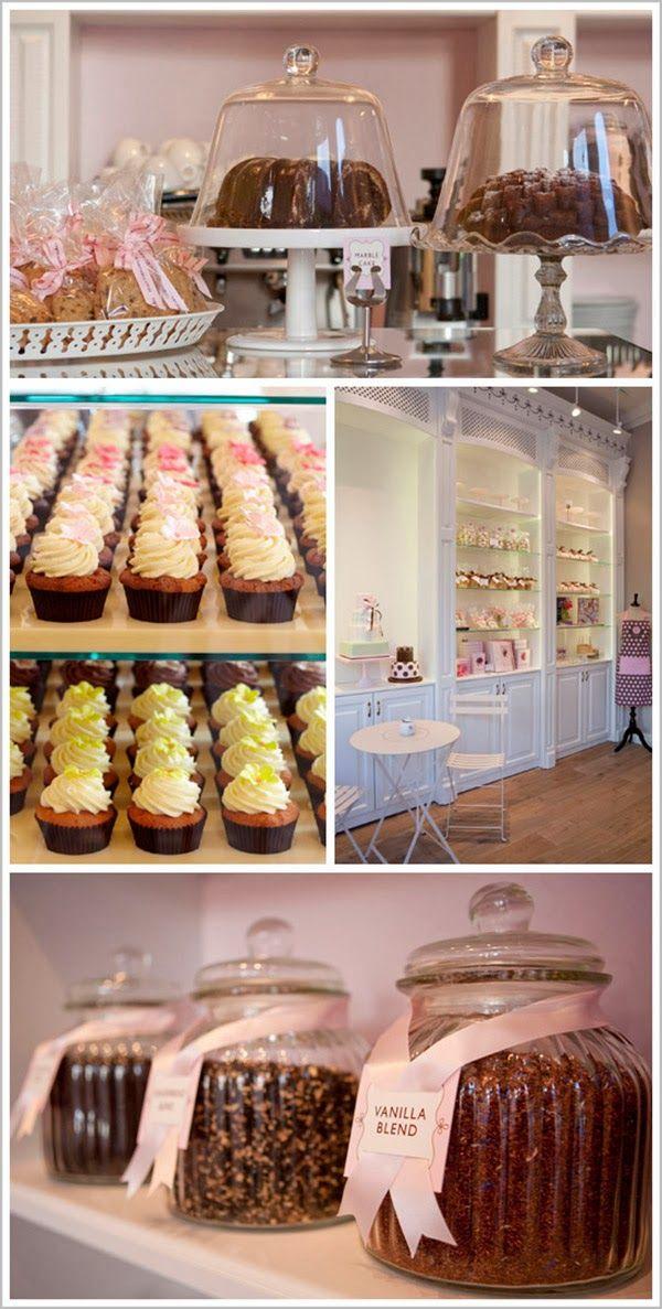 A Pretty Pastel Cake Shop In London | Decorismo