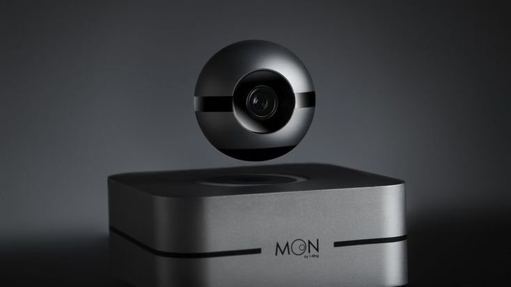 This creepy floating eyeball might be the smart home cam you want.