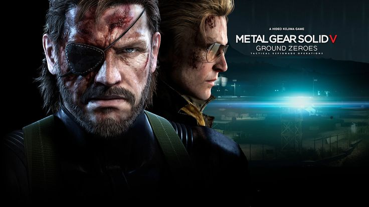 MGS V: Ground Zeroes Cover Games Wallpaper HD #9826 Wallpaper