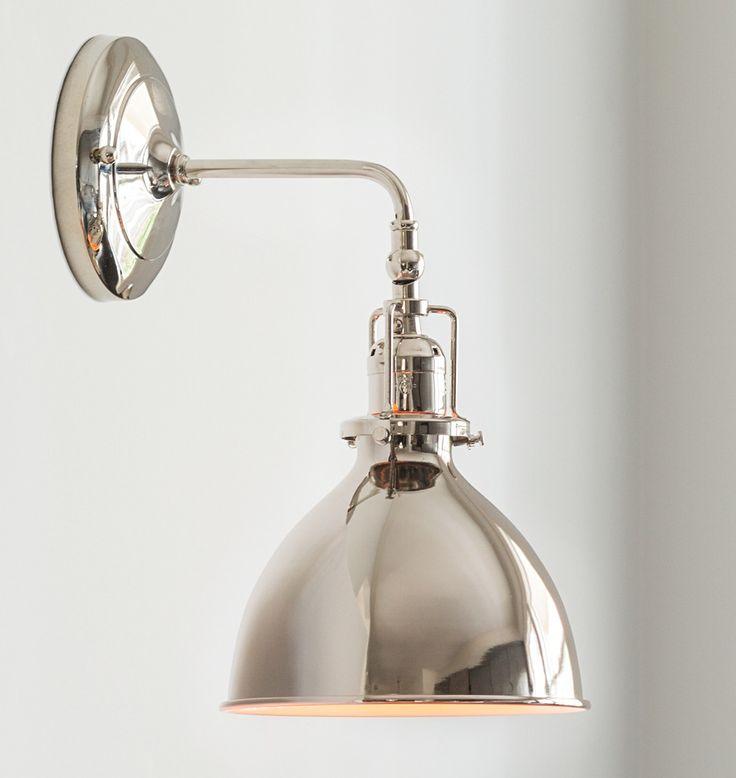 Best Kitchen Sconce Images On Pinterest Kitchen Lighting - Single light bathroom wall sconce