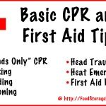 Basic CPR and  First Aid Tips