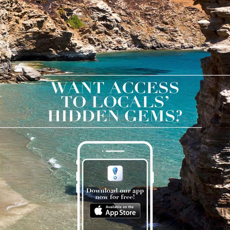 FREE Download NOW from AppStore! https://itunes.apple.com/gr/app/travelgems/id1236117695?mt=8