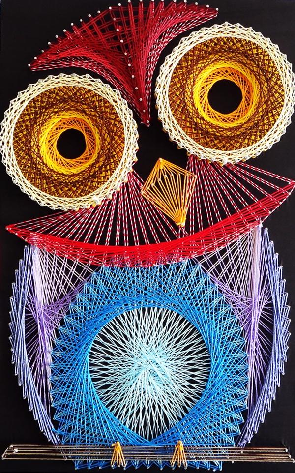 Aline Campbell: string art