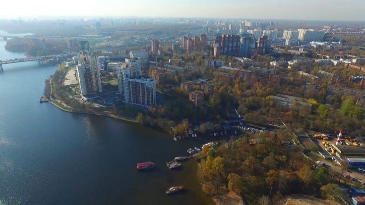 химки, канал,мост,парк,город,осень,вода,мкад,ленинградское шоссе,