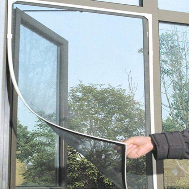 2pack Diy Bug Fly Mosquito Insect Door Window Protector Net Mesh Screen Curtain Walmart Com In 2020 Window Mesh Screen Diy Window Screen Wire Mesh Screen