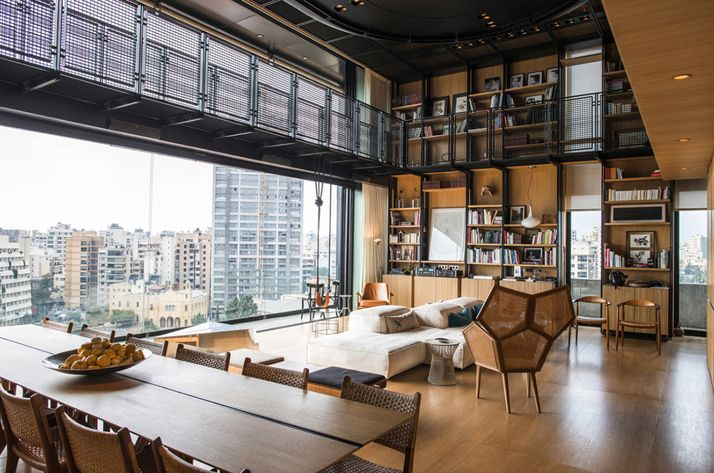 The N.B.K. Residence (2) in Beirut, Lebanon by Bernard Khoury/DW5 | http://www.yatzer.com/N-B-K-residence-2-bernard-khoury-dw5