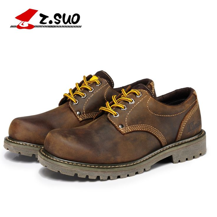 2016 new   fashion genuine leather men's boots  stylish men's shoes genuine leather men's casual shoes Martin Boots