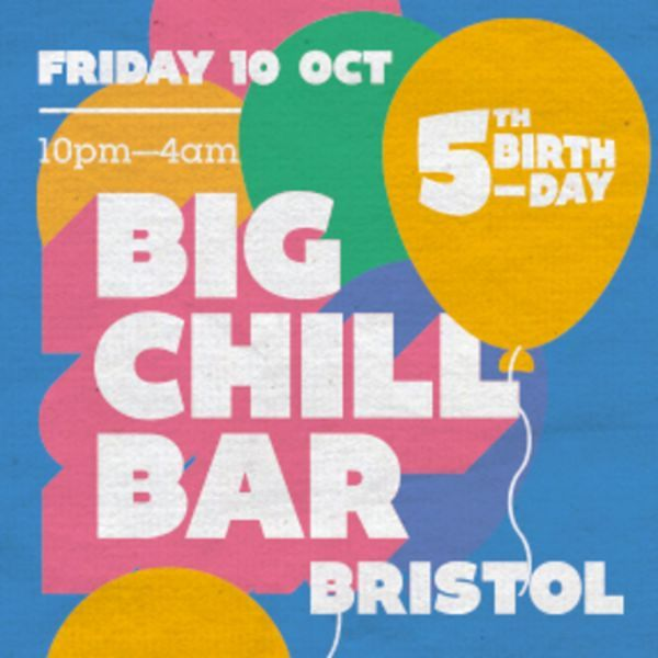 Big Chill Bar Bristol 5th Birthday at Big Chill Bar Bristol, 15 Small Street, Bristol, BS1 1DE, UK on October 10, 2014 to October 11, 2014 at 10:00 pm to 4:00 am.  We are 5! Join in the celebrations as we host a night with the Ragga Twins and Wrongtom in full effect with Mr Benn.  URL: Facebook: http://atnd.it/16268-0  Category: Nightlife  Prices: After 11pm £4, After 11pm with a WaBC Community Card £2, Free before 11pm  Artists: Ragga Twins, Wrongtom, Mr Benn