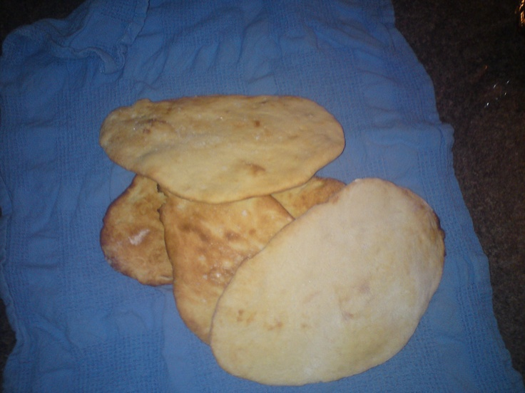 First try at making naan