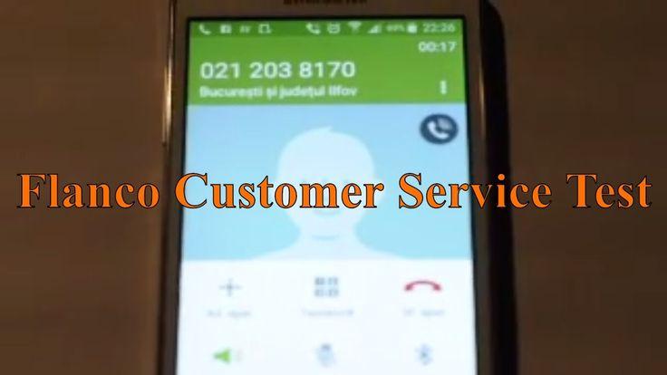Test serviciu clienti Flanco / Flanco Customer Service Test