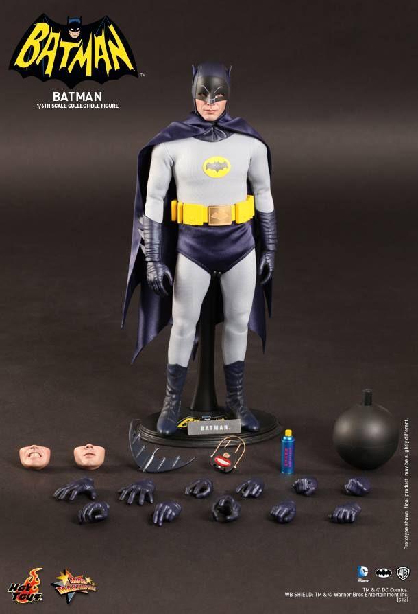 1966 BATMAN and ROBIN Hot Toys Collectible Action Figures — GeekTyrant