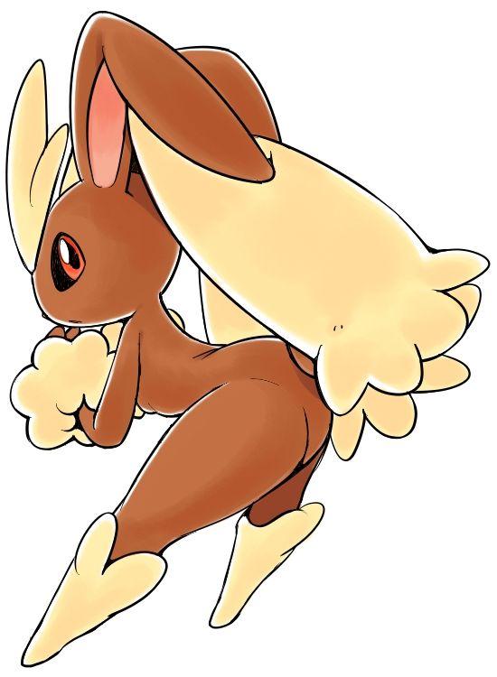 lopunny no_humans oyatsu_(mk2) pokemon red_eyes simple_background solo white_background