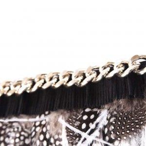 Multi Feathered Bracelet Detail