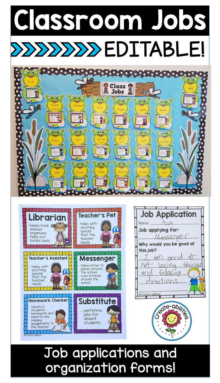 ideas about classroom job application class editable classroom job cards and posters to use in your room it also comes